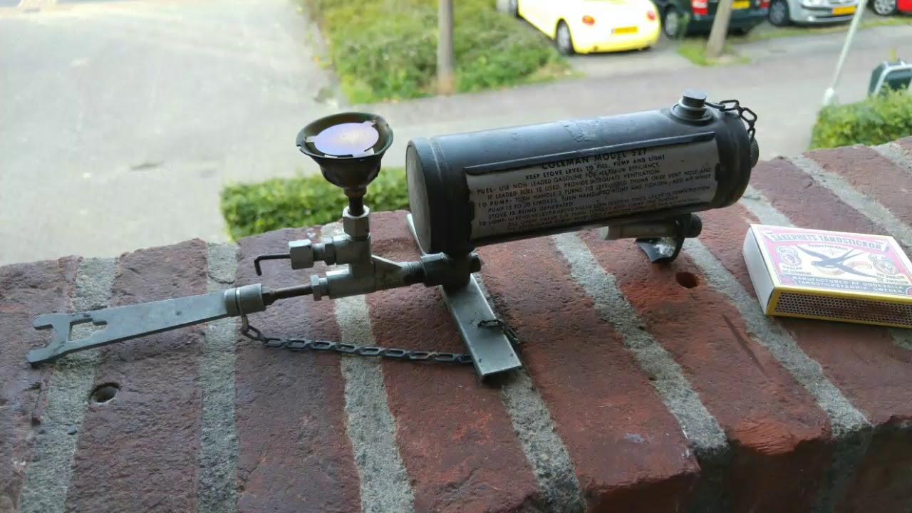 US Army WW2 Coleman model 527 Gasoline Burner