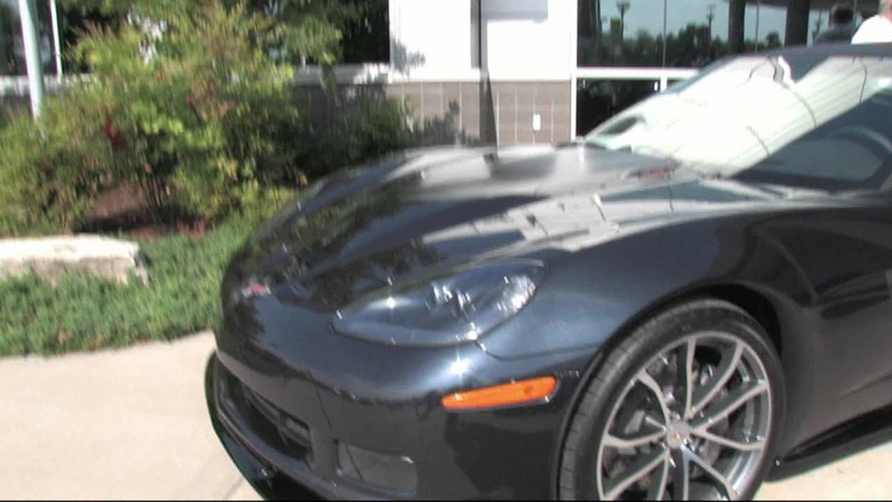2013 Night Race Blue Corvette Walk Around - YouTube
