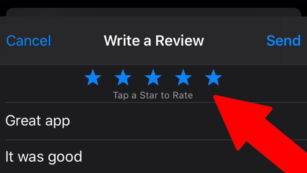How to Write an App Review on App Store for Your iPhone or iPad