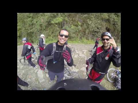 Bolívia: Down Hill Estrada da Morte - Pico Chacaltaya