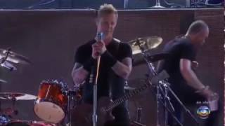 Metallica on stage fail compilation.