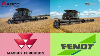 Massey Ferguson Ideal T9 combine or Fendt Ideal T9 combine? | TractorLab