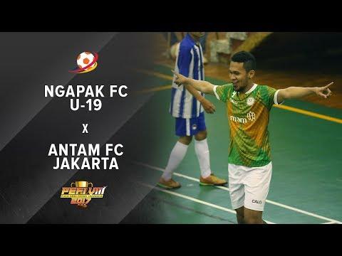 Ngapak FC U19 (1) vs (6) Antam FC Jakarta - PEFI 2017