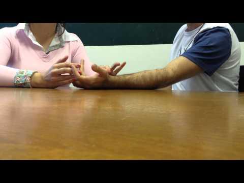 Teste resistência terceiro dedo
