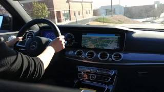 Test Drive in the E43 AMG!