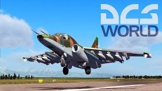 DCS World - Грачи прилетели. Летаю в первый раз! Как разбить самолет за 5 минут. Лучший симулятор!