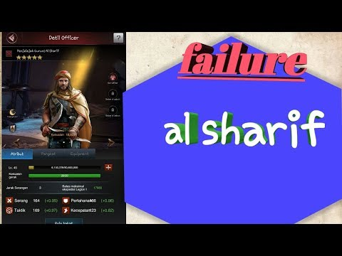 Last Empire- War Z/ Al Sharif Skills