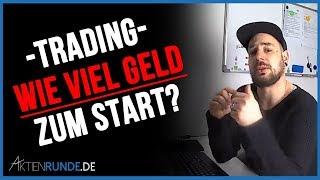 Trading - Wie viel Geld zum Start?