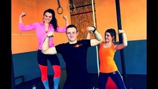 Жиросжигающая тренировка по системе ТАБАТА . Комплекс упражнений для девушек .