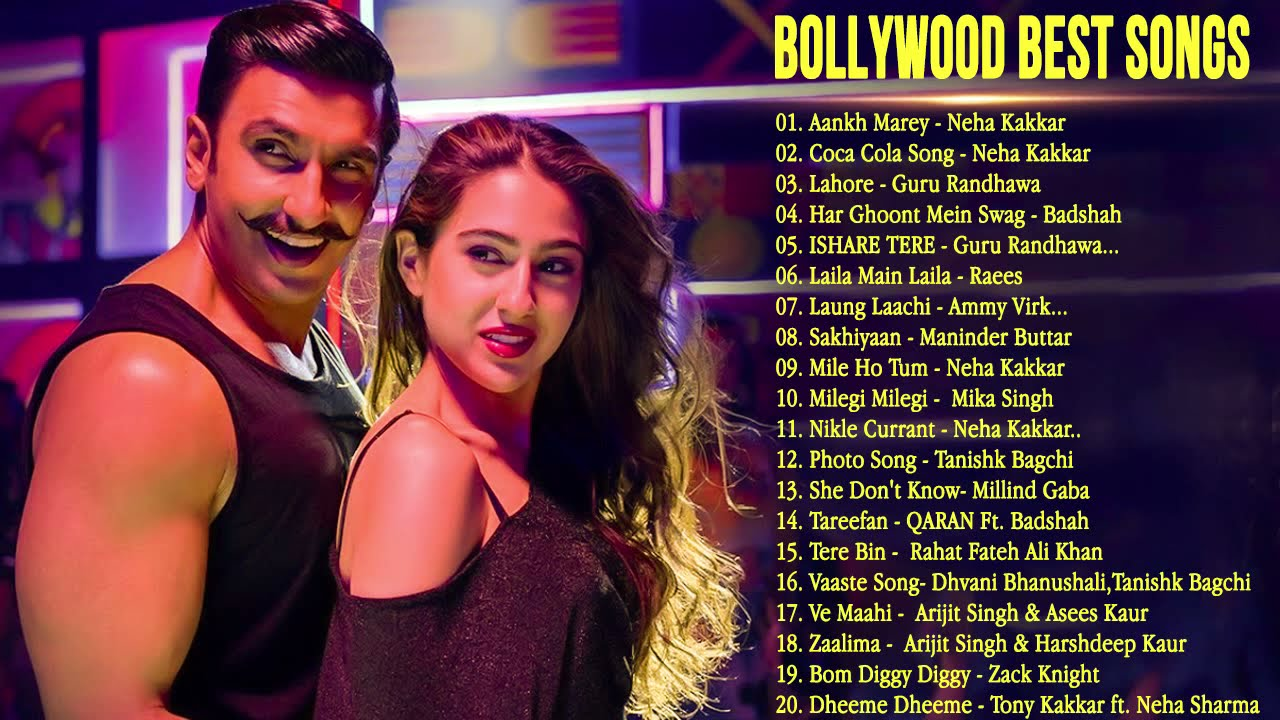 BOLLYWOOOD BEST SONGS 2019 Top 20 Bollywood Hindi Songs