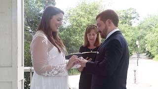 Anna and Brandon. Wedding at Hampton Park
