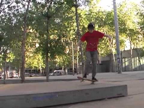Josh Arnott Skateboards of Choice Barcelona 2010