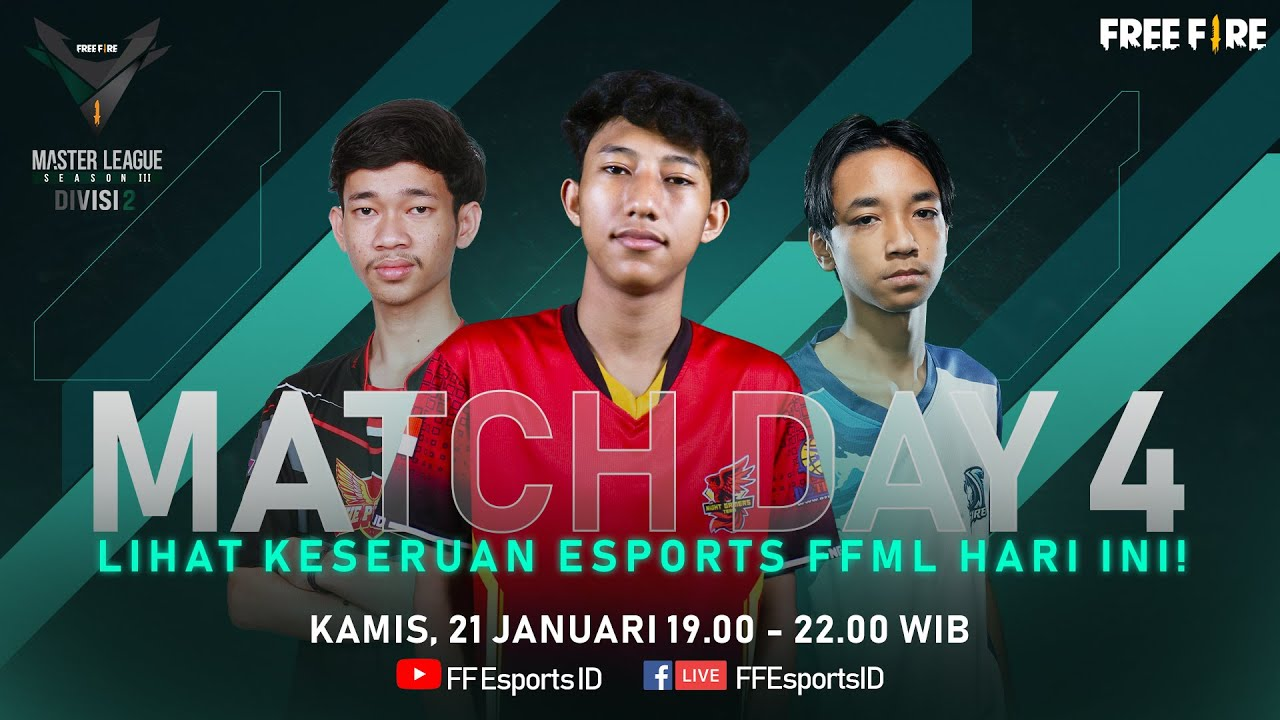 Download [2021] Free Fire Master League Season III Divisi 2 - Match Day 4