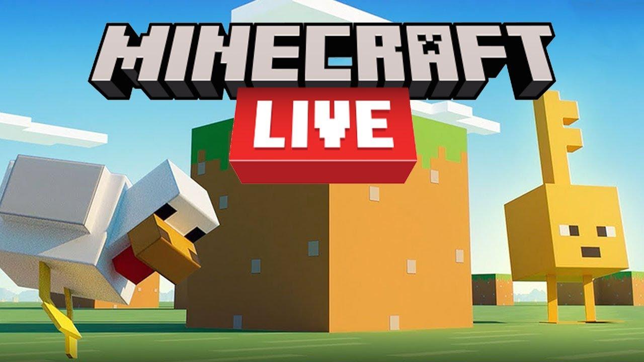Watch: Minecraft Live 2021 - Live!