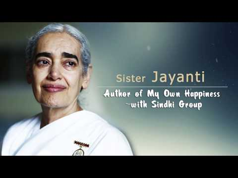 Sister Jayanti - Author of my Own Happiness - with Sindhi Group (Brahma Kumaris, UK)