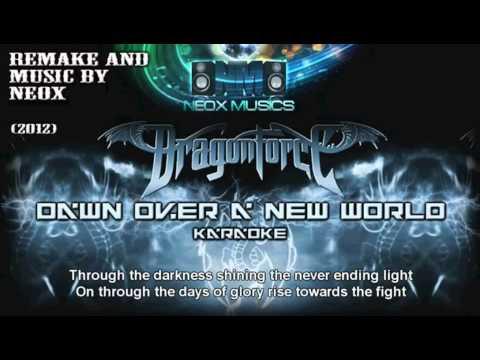 NEOX - Dawn Over a New World (karaoke with lyrics)