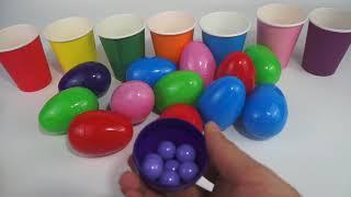 儿童学颜色-003-彩蛋糖果
