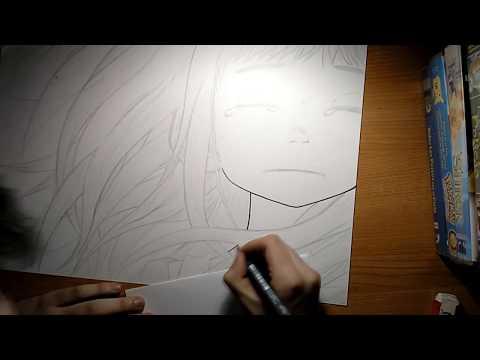 speed-drawing-aiko-tanaka---oyasumi-punpun