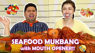 MUKBANG WITH MOUTH OPENER with Lloyd Cadena (TOO MUCH LAWAY!!!)
