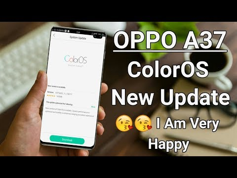 OPPO A37 ColorOS New Update 😘😘 I Am Very Happy
