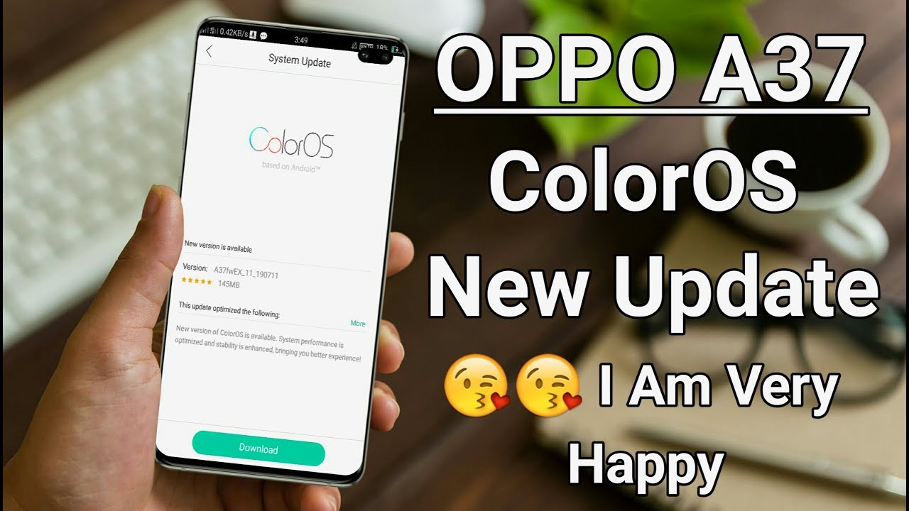 Repeat OPPO A37 ColorOS New Update 😘😘 I Am Very Happy by Ritik
