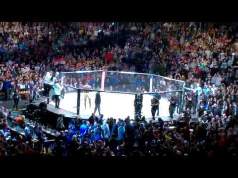 Stipe Miocic Walkout UFC 220 1/20/18 Boston Garden