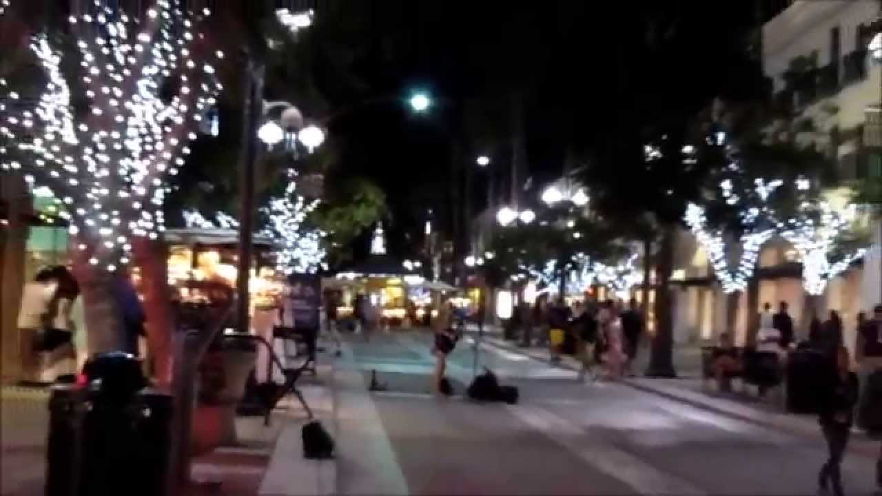 Third Street Promenade >> Third Street Promenade, Santa Monica, California - YouTube