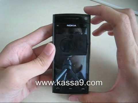 Dimensi Nokia X6 16GB