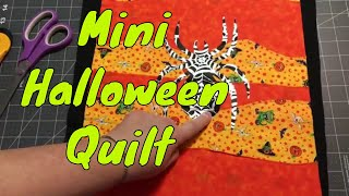 Sew With Me - Making a Halloween mini art style wall hanging