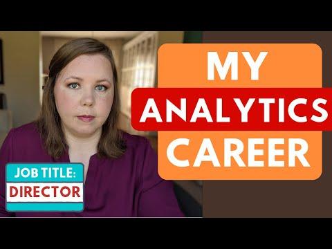 My Analytics Career Path – Analyst to Director