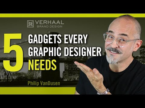 5 Hardware Gadgets Every Graphic Designer Needs