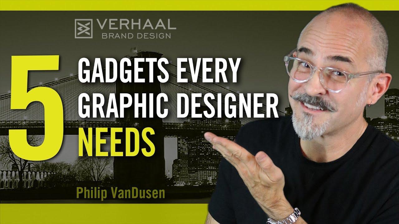 5 Hardware Gadgets Every Graphic Designer Needs
