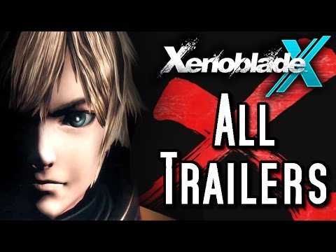 Xenoblade Chronicles X - ALL TRAILERS (Wii U)