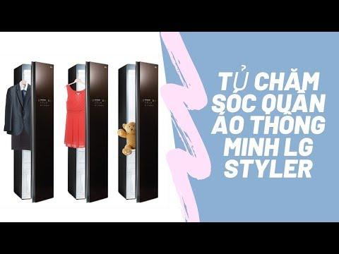 Review - Tủ chăm sóc quần áo thông minh LG Styler - Siêu thị điện máy Pico