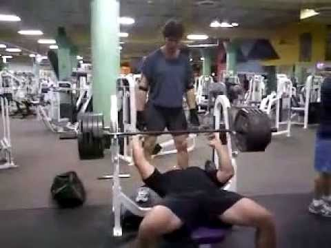 495 Bench Press RAW At 240 Pound Body Weight All Natural