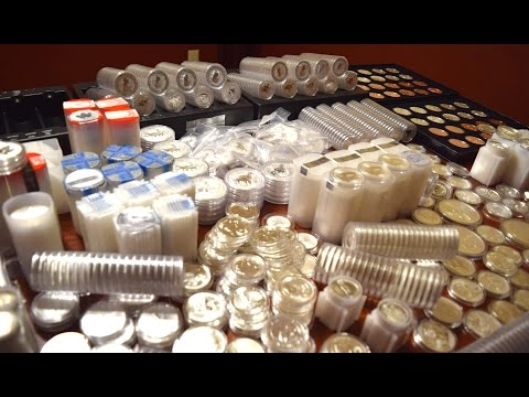 Full Stack Video of 6,000+ ounces of Silver Part 4: Coins & Rounds