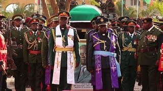 Zambia's late President Michael Sata is laid to rest