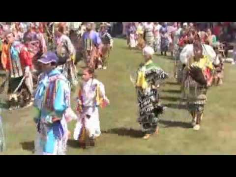 Honor The Earth Powwow Saturday  Afternoon 2010 Part 1