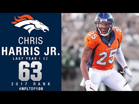#63 Chris Harris Jr. (CB, Broncos) | Top 100 Players of 2017 | NFL