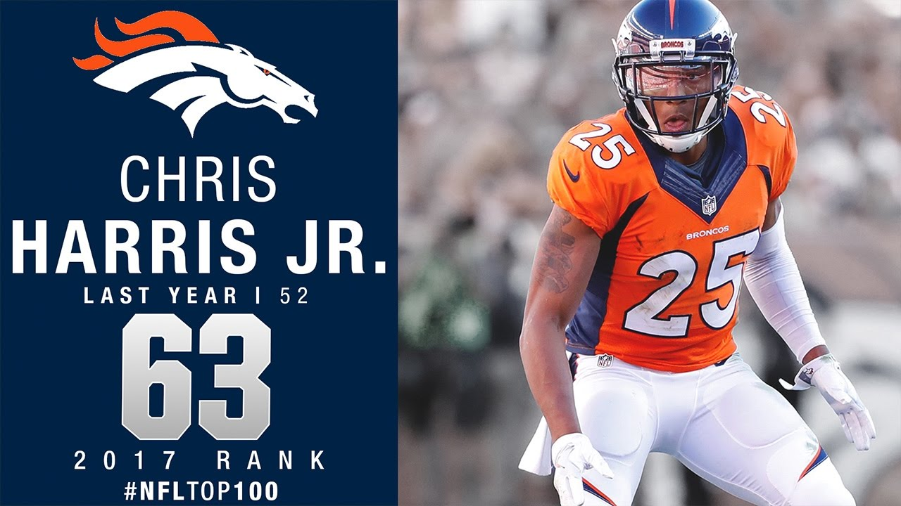 63 Chris Harris Jr Cb Broncos Top 100 Players Of 2017 Nfl