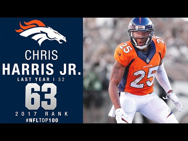Broncos Cb Chris Harris Laughs Off Nfl Top 100 Ranking It S A Joke