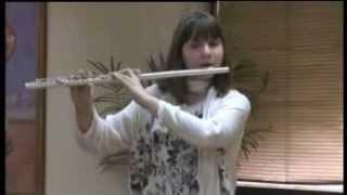 Marija Kovač ,Tchaikovsky(Barcarolle),Handel (Sonata F major,Siciliana,Gigue) Flute