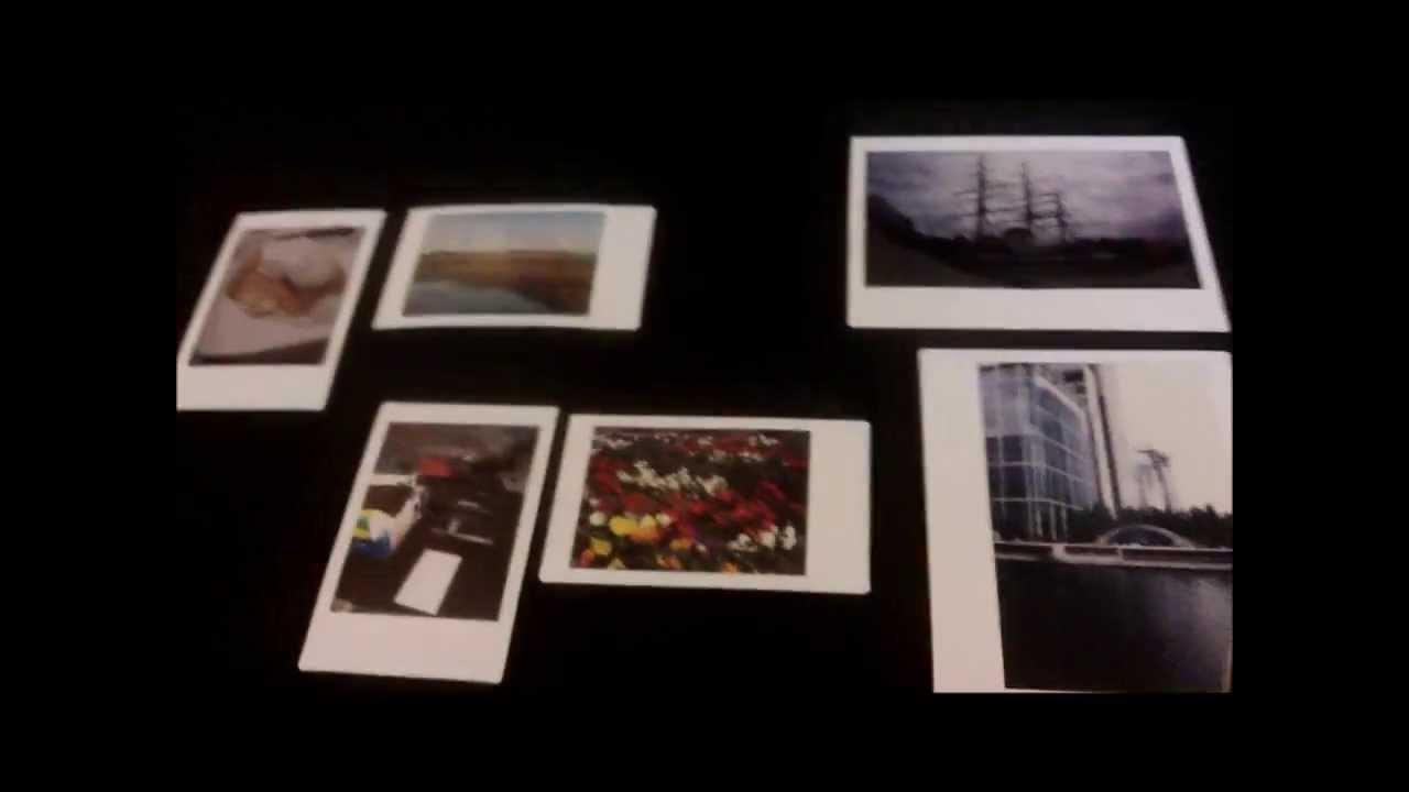 Polaroid Vs Instax >> Closer view: Fujifilm Instant Instax mini film Vs Instant Wide Film Vs Pivi Digital Printer MP ...