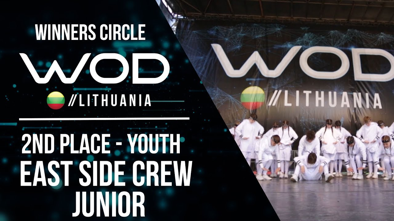 EAST SIDE CREW JUNIOR   2nd Place Youth   Winner Circle ...