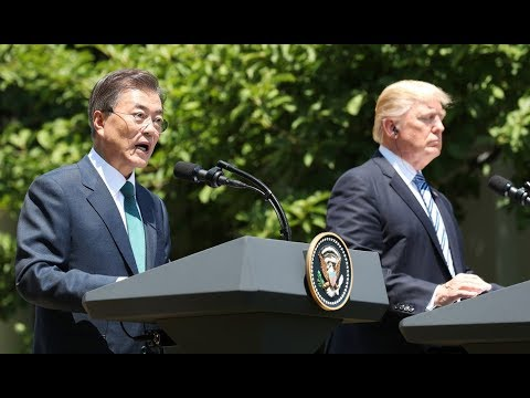 🔴 LIVE: President Donald Trump Holds URGENT Joint Press Conference with South Korean President Moon