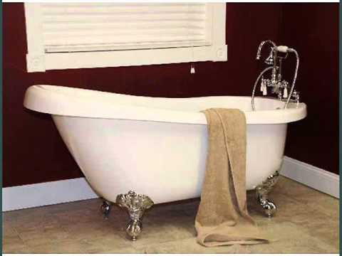 Clawfoot Bathtub Faucets   Bathtubs Design Ideas And Collection