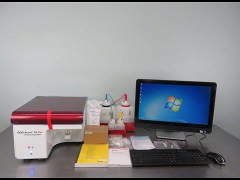 BD Biosciences Accuri C6 Plus Flow Cytometer