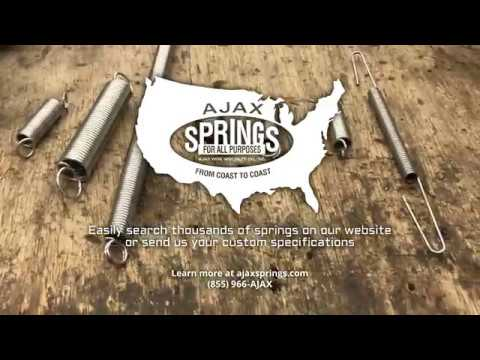 Extension Spring Ends at Ajax Wire & Specialty Co., Inc.