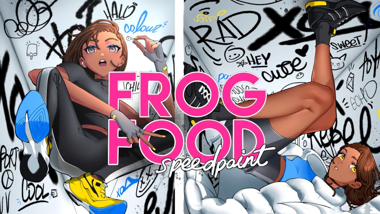 Frog Food:  Balancing Art & Life   Speed Paint + Commentary