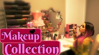 My Makeup Collection & Set Up!!!
